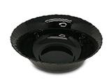 黑钻-钢化玻璃花边碗 5寸 (GK10-5)