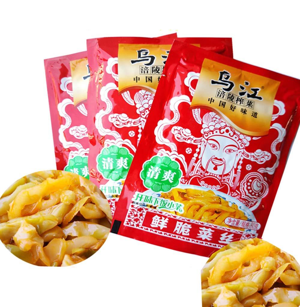 乌江-清香榨菜 4x80克