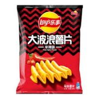 乐事-辛辣味大波浪薯片/70克