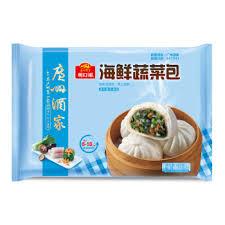 利口福-海鲜蔬菜包/30克X8个