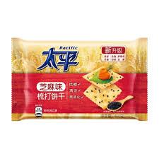太平-苏打饼干/芝麻味 400克