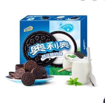 奥利奥-纯正酸奶味双层夹心饼干/388克