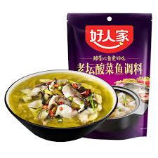 好人家-老坛酸菜鱼调料/360克