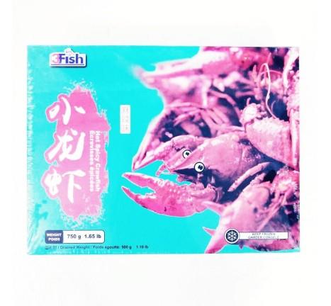 3FISH-麻辣味小龙虾/750克
