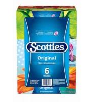 SCOTTIES-2层 盒装抽纸(6盒装)