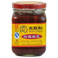 王致和-玫瑰腐乳/ 340克
