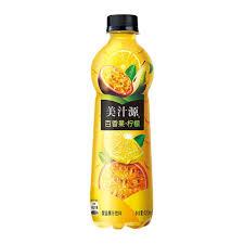 美汁源-百香果柠檬汁/420毫升