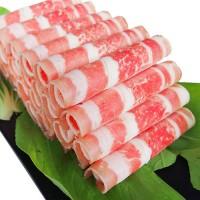 A火锅/烧烤用猪肉片/盒 1磅 (特价每单限购一盒,需要多订的在此下单)