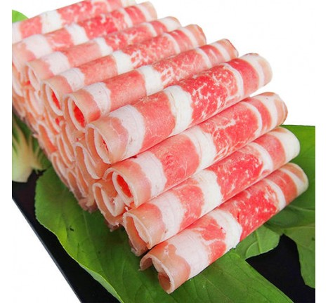 A火锅/烧烤用肥牛肉片/盒 1磅 (特价每单限购一盒,需要多订的在此下单)