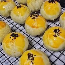 手工酥饼-豆沙蛋黄酥/每盒