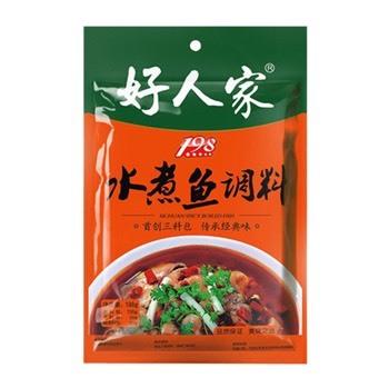 好人家-水煮鱼调料(198克/袋)