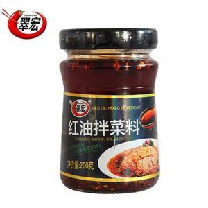 翠宏-红油拌菜料 200g