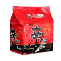 农心-特辣香菇拉面 120克X5袋