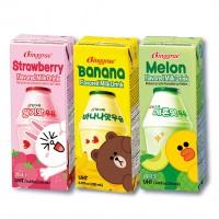BINGGRAE-哈密瓜牛奶/200毫升*6