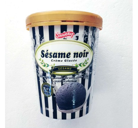 shirakiku-黑芝麻冰淇淋/500克